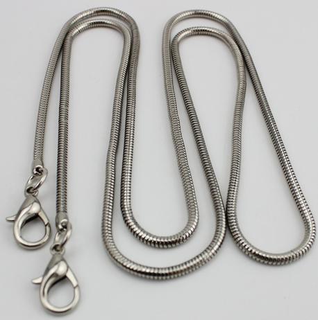 Łańcuszek srebrny wąż 120 cm (1)