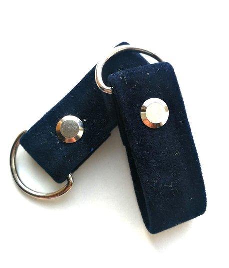 Zaczepy eko tworzywo granat navy blue aksamit (1)