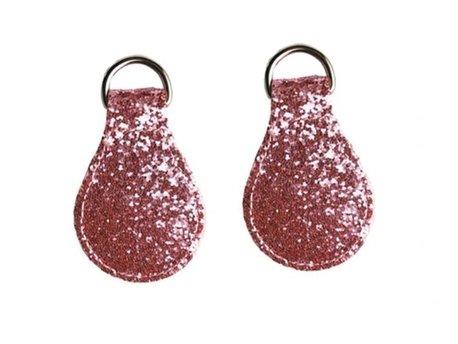 Łezki glitter rose brokatowe 2 szt (1)